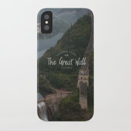 A different view of The Great Wall of China iPhone Case