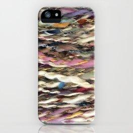 """""""Carnival"""" Handspun Yarn iPhone Case"""