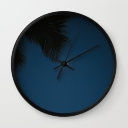 The Moon's Smile Wall Clock