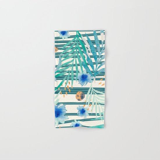 SUMMERTIME STRIPES Hand & Bath Towel
