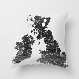 The Big Freeze Throw Pillow