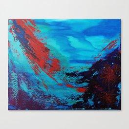 Underwater Life Canvas Print