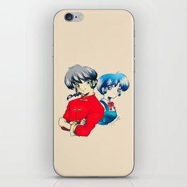 Ranma ♥ Akane iPhone Skin