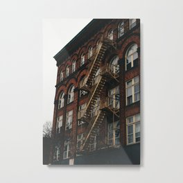 Fire Escape With Me Metal Print