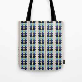 Fanned Squares Tote Bag