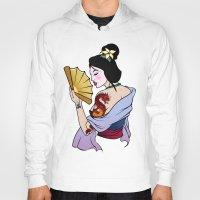 mulan Hoodies featuring Princess Mulan by NOBODY's Art
