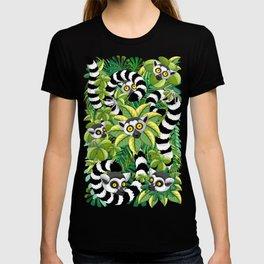 Lemurs on Madagascar Rainforest T-shirt
