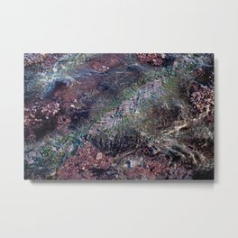 Mud IV (Natural) Metal Print