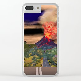 The Road to Mullumbimby Clear iPhone Case