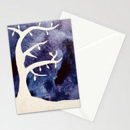 Midnight Tree Stationery Cards