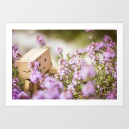 Adventures with Danbo Chan I Art Print