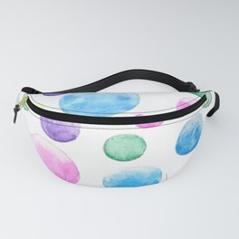 cheerful colorful bubbles Fanny Pack