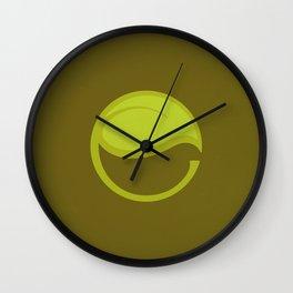 East Leaf Lake Wall Clock