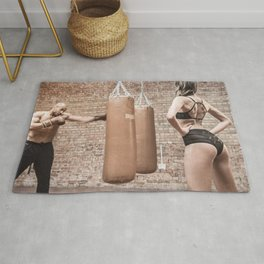 Boxing Time Rug