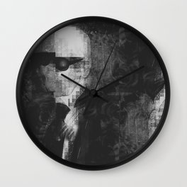 Karl Lagerfeld Tribute - Kendall Wall Clock