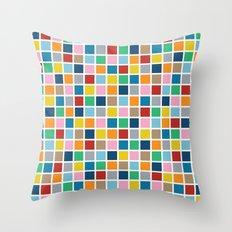 Colour Block Outline Throw Pillow