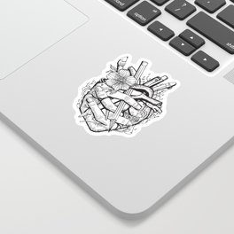 Heart of passion Sticker