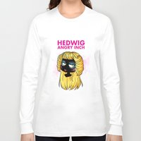 hedwig Long Sleeve T-shirts featuring Hedwig and the Angry Inch by Sunshunes
