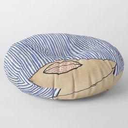 Rain Girl Floor Pillow