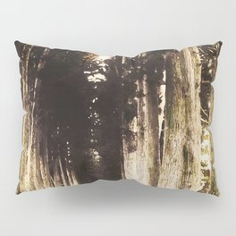 Alone in the woods of Nikko Pillow Sham