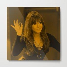 Jennifer Aniston - Celebrity Metal Print