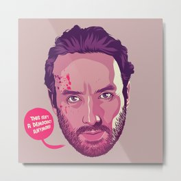 The Walking Dead - Rick Grimes Metal Print