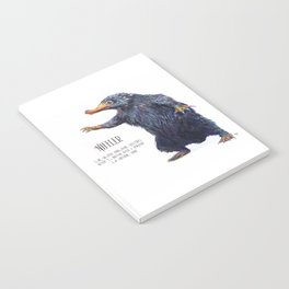 Niffler art Fantastic Beasts Notebook