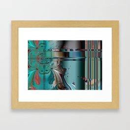 Induction Molding Framed Art Print