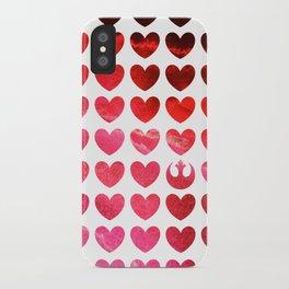 Star Wars Rebel Alliance Valentine iPhone Case