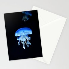 Blue Jellyfish Stationery Cards