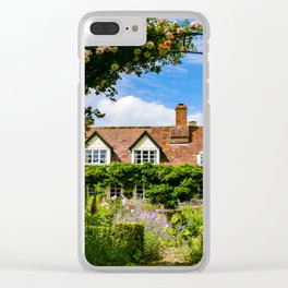 Cottage garden. v2 Clear iPhone Case