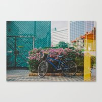 singapore Canvas Prints featuring Singapore by Tosha Lobsinger is my Photographer