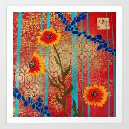Salida Blooms Art Print
