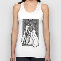 valar morghulis Tank Tops featuring Nienna and Yavanna by Anca Chelaru