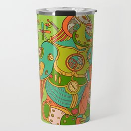 Gorilla, cool wall art for kids and adults alike Travel Mug