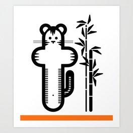 ABC: T Art Print