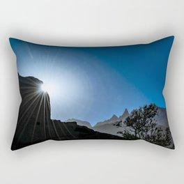 Patagonia Landscape Scene, Aysen, Chile Rectangular Pillow