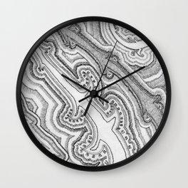 organic Wall Clock