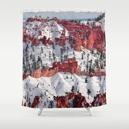 Bryce Canyon - Sunset Point III Shower Curtain