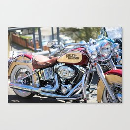 Passion for motorcycles, engines, street bikes Canvas Print