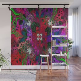Hodge Podge Psychedelic Wall Mural