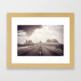 Road to the Giants Framed Art Print