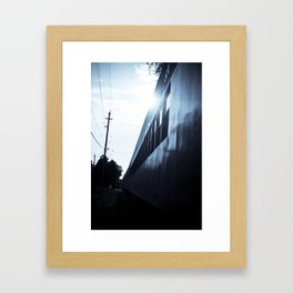 A TICKET OUT OF HERE. Framed Art Print
