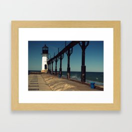 Outer Lighthouse Framed Art Print
