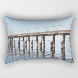 Reflecting on life. Rectangular Pillow