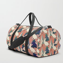 Bunnies and Trees 1 Duffle Bag