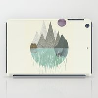 waterfall iPad Cases featuring Waterfall by FLATOWL