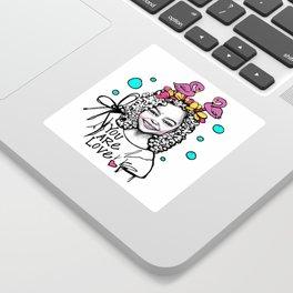 #STUKGIRL ESSA Sticker