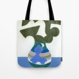 Moonlight Mystery Vase Tote Bag