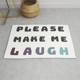 make me laugh . color Rug